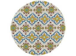 Kaleen Home & Porch Round Ivory Area Rug