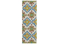 Kaleen Home and Porch Ivory 2' x 6' Rectangular Runner Rug