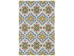 Kaleen Home & Porch Rectangular Ivory Area Rug