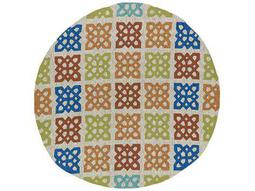 Kaleen Home & Porch Round Sand Area Rug