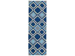 Kaleen Home & Porch Blue Runner Rug