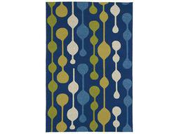 Kaleen Home & Porch Rectangular Blue Area Rug