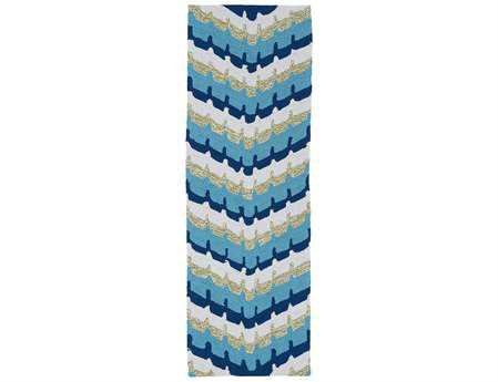 Kaleen Home & Porch Blue Runner Rug