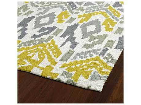 Kaleen Habitat Grey Rectangular Area Rug