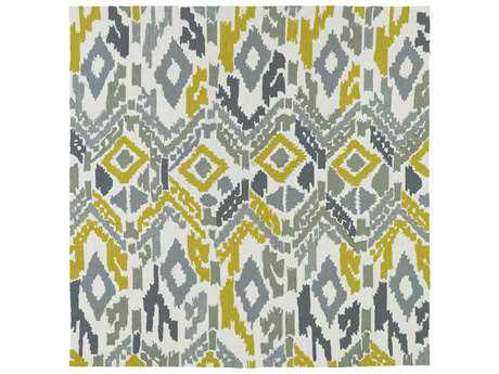 Kaleen Habitat Grey Square Area Rug