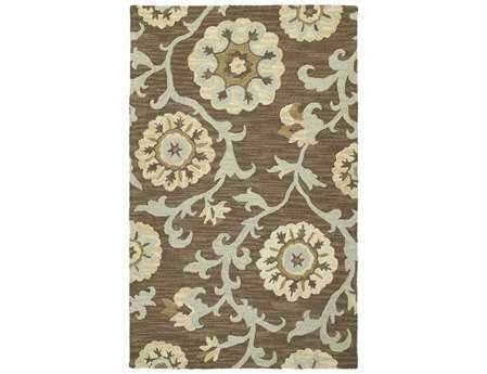 Kaleen Carriage Rectangular Graphite Area Rug