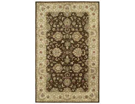 Kaleen Heirloom Rectangular Brown Area Rug