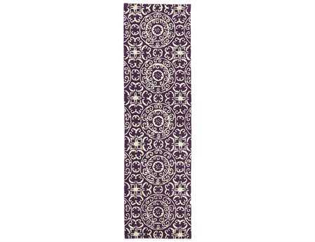 Kaleen Evolution Purple Runner Rug