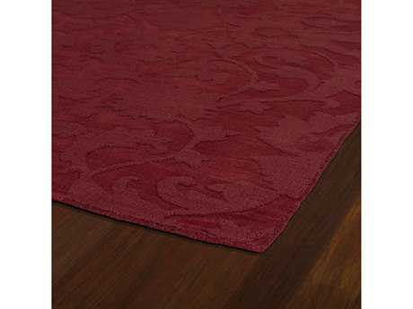 Kaleen Imprints Classic Rectangular Red Area Rug