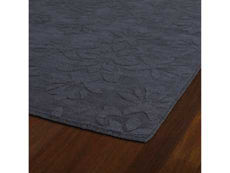 Kaleen Imprints Classic Rectangular Charcoal Area Rug