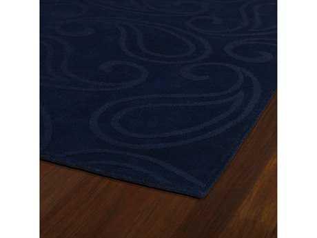 Kaleen Imprints Classic Rectangular Navy Area Rug