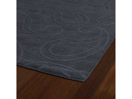 Kaleen Imprints Classic Rectangular Charcoal Area Rug
