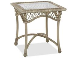 Willow 24'' Wide Wicker Square End Table