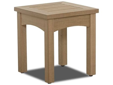 Klaussner Delray 17'' Wide Wood Square End Table