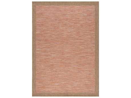 Kalora Trellis Border Flatweave Rectangular Red / Brown Area Rug