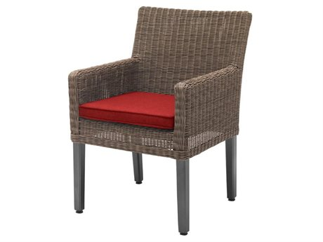 Kettler Bretange Chair W/ Jockey Red Cushions