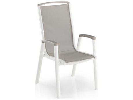 Kettler Vista Aluminum Stackable Armchair