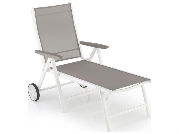 Kettler vista aluminum multi position chaise lounge for Chaise kettler