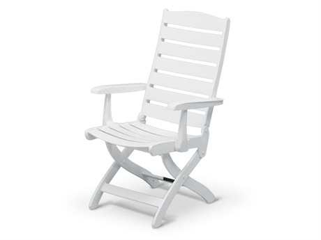 Kettler Caribic Resin White 16-Position Lounge Chair PatioLiving