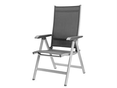 Kettler Basic Plus Aluminum Silver Multi-Position Lounge Chair PatioLiving