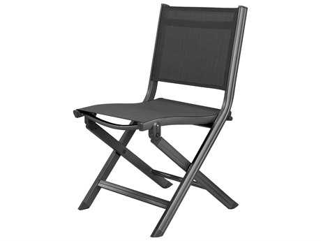 Kettler Basic Plus Folding Side Chair Gray/Gray