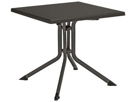 Kettler 32'' Square Folding Table Gray/Gray