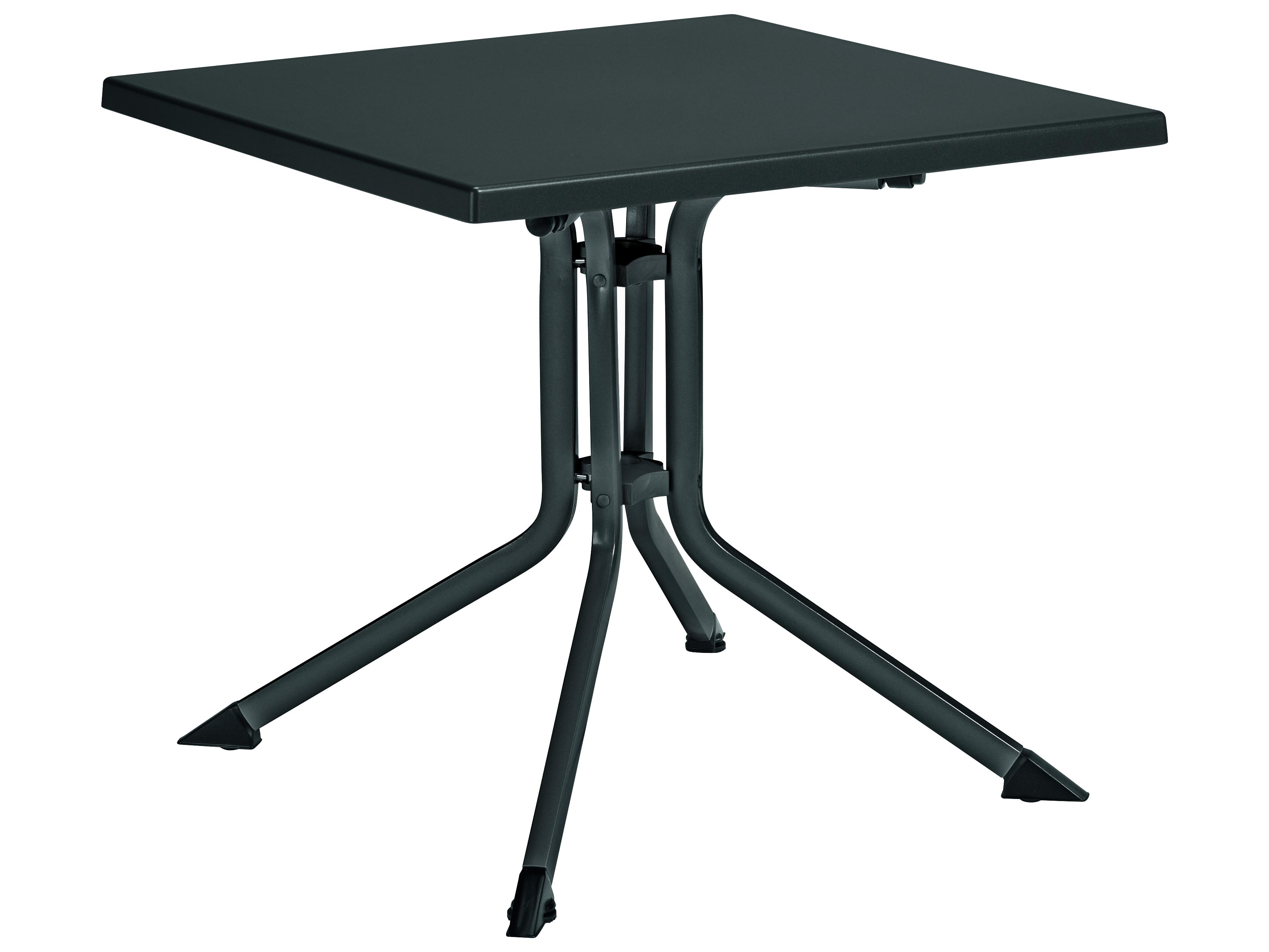 Kettler 32 Square Folding Table Gray Gray 307018 7100