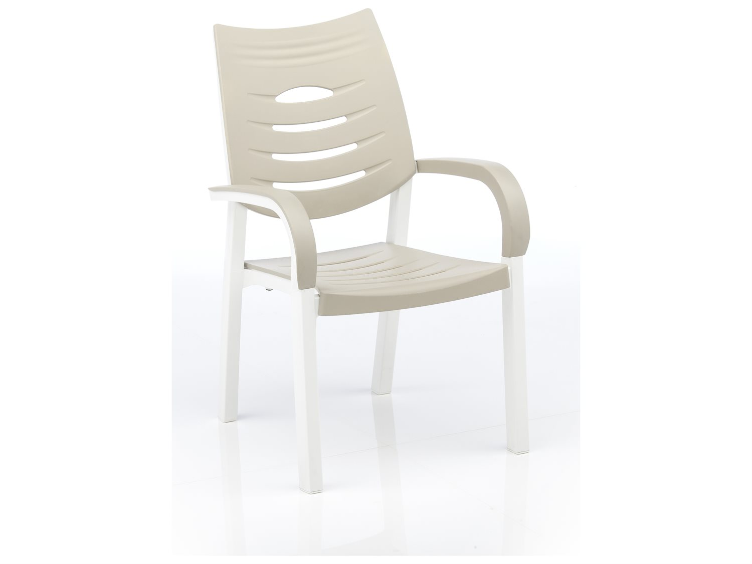 Kettler happy recycled plastic stack chair kr3102025100 for Chaise kettler