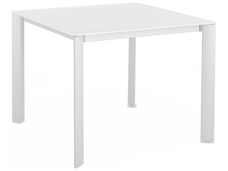 Kettler 37 Square Kettalux Plus Loft Dining Table with Umbrella Hole