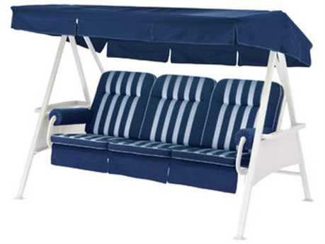 Kettler 3 Seater Swing with Navy Blue Cushion Set