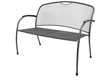 Kettler Monte Carlo Wrought Iron Bench PatioLiving