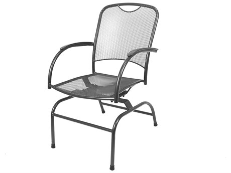 Kettler Monte Carlo Wrought Iron Spring Rocker Chair