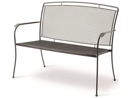 Kettler Henley Wrought Iron Bench PatioLiving