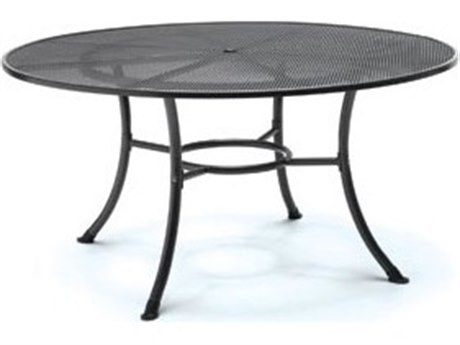 Kettler Steel 48 Round Mesh Top Table with Umbrella Hole