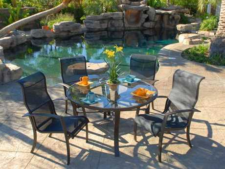 Koverton Escape Sling Aluminum Dining Set