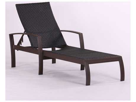 Koverton Escape Woven Wicker Single-Chaise Lounge
