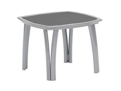 Koverton Modone Tables Aluminum 24'' Wide Square Side Table
