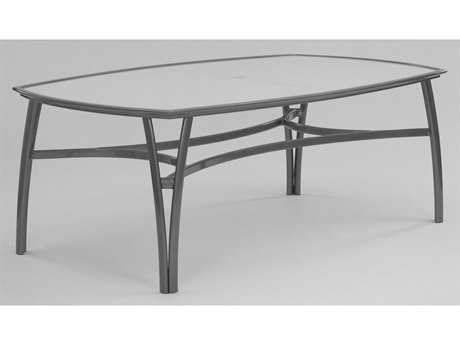 Koverton Modone Tables Aluminum 48 x 80 Rectangular Dining Table w/Hole