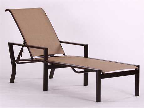 Koverton Parkview Woven Wicker Sling Chaise Lounge