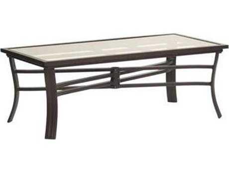 Koverton Escape Aluminum 48''W x24''D Rectangular Coffee Table