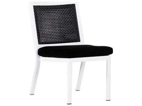 Koverton Parkview Woven Wicker Armless Dining Chair KVK26001