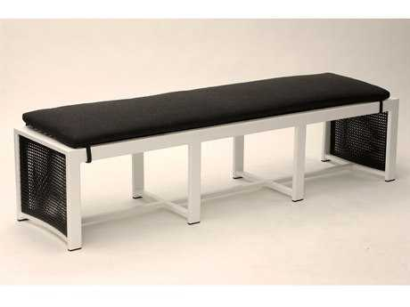 Koverton Parkview Woven Wicker Dining Bench