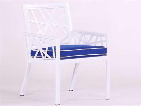 Koverton Parkview Knest Cast Aluminum Arm Dining Chair KVK26302
