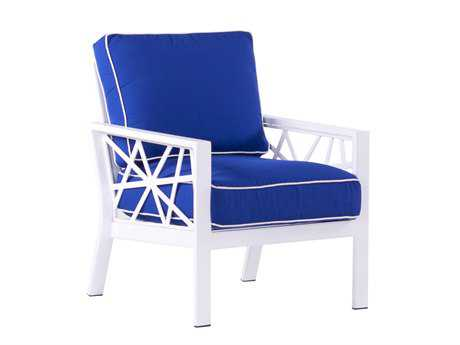 Koverton Parkview Knest Cast Aluminum Deep Seating Club Chair