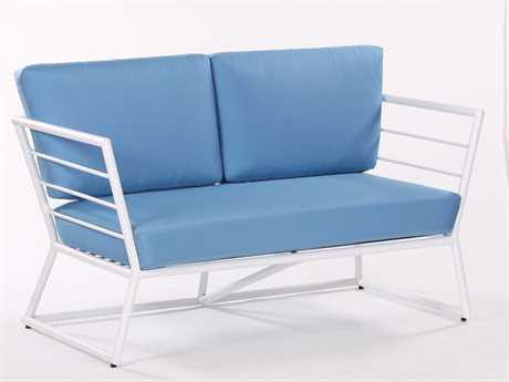 Koverton Linear Extruded Aluminum Deep Seating Loveseat
