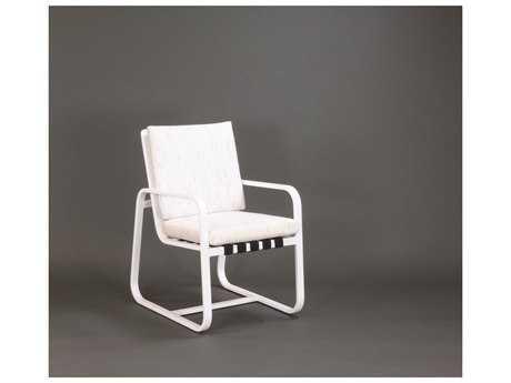 Koverton Chapman Extruded Aluminum Arm Dining Chair