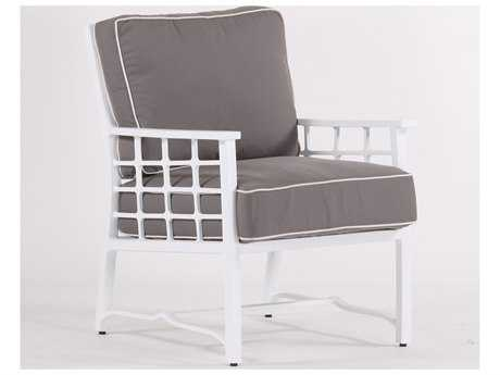 Koverton Evans Cast Aluminum Deep Seating Club Chair