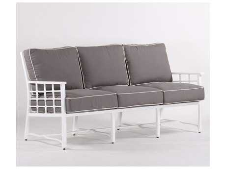 Koverton Evans Cast Aluminum Deep Seating Sofa