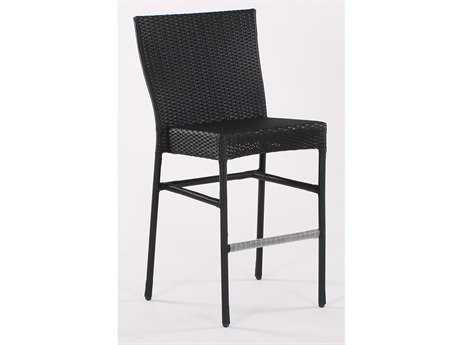 Koverton Soho Wicker Stationary Armless Bar Stool - Frame