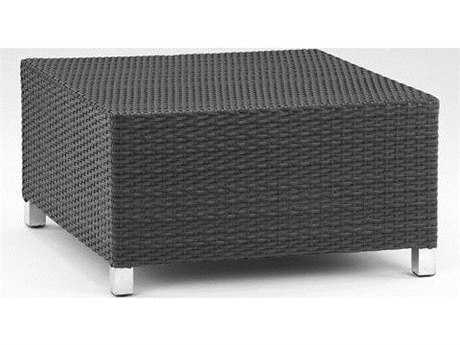 Koverton Soho Wicker 32'' Wide Square Coffee Table